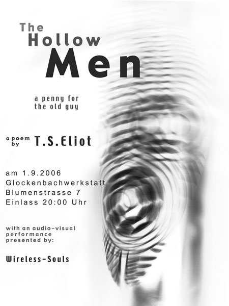 a literary analysis of the poem the hollow men by eliot Ts eliot's the hollow men is critiqued by lance1hofer1draper in types creative writing and literary critiques.